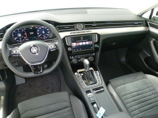 vw passat b8 white interior highline