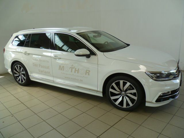 vw passat b8 white highline